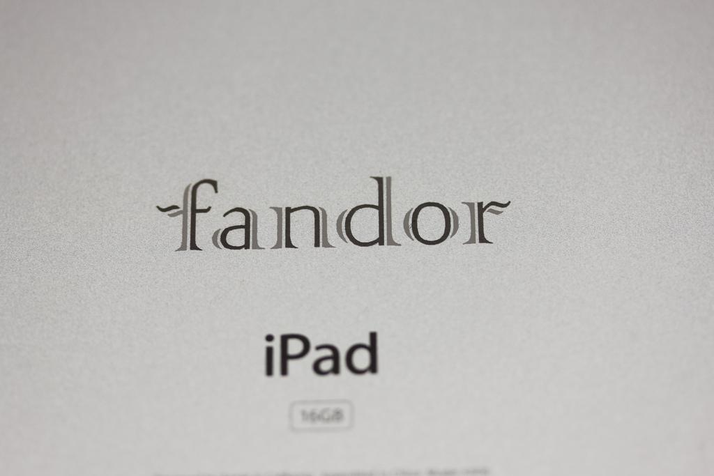2 color iPad logo engraving