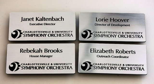 Engraved Magnetic Name Tags In A Flash Laser Ipad