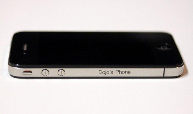Engraved iPhone 4 Antenna