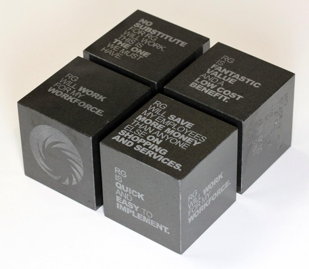 Granite Cube Promo Gift