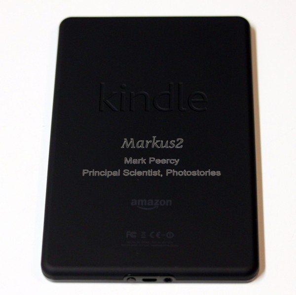 Laser Engraved Kindle Fire