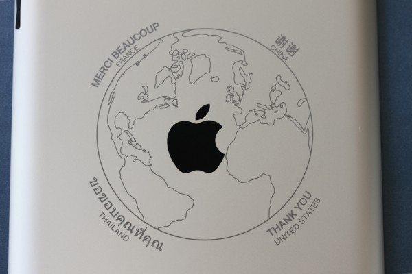 Global Thank You Engraved iPad
