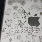 Detailed iPad mini engraving