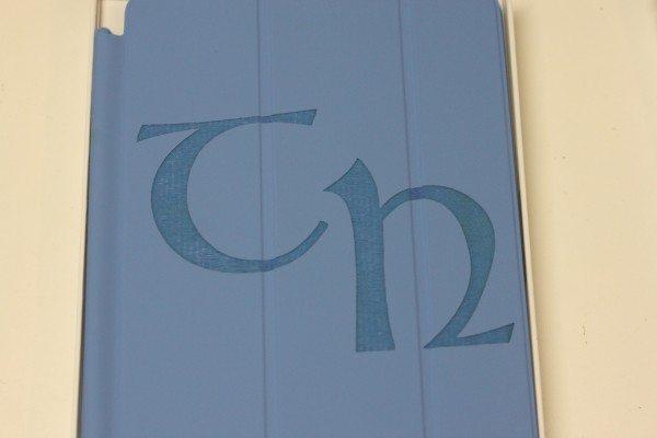 Blue iPad mini Cover