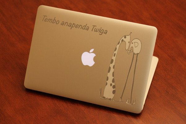 Child's Drawing MacBook Engraving