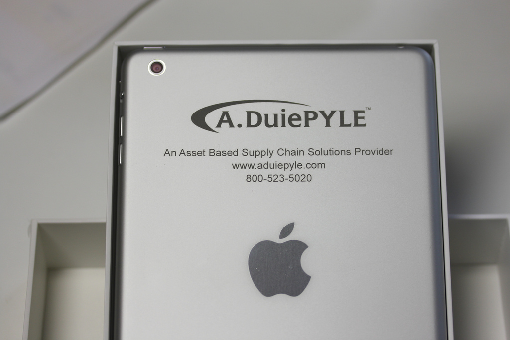 Engrave iPad With Contact Info