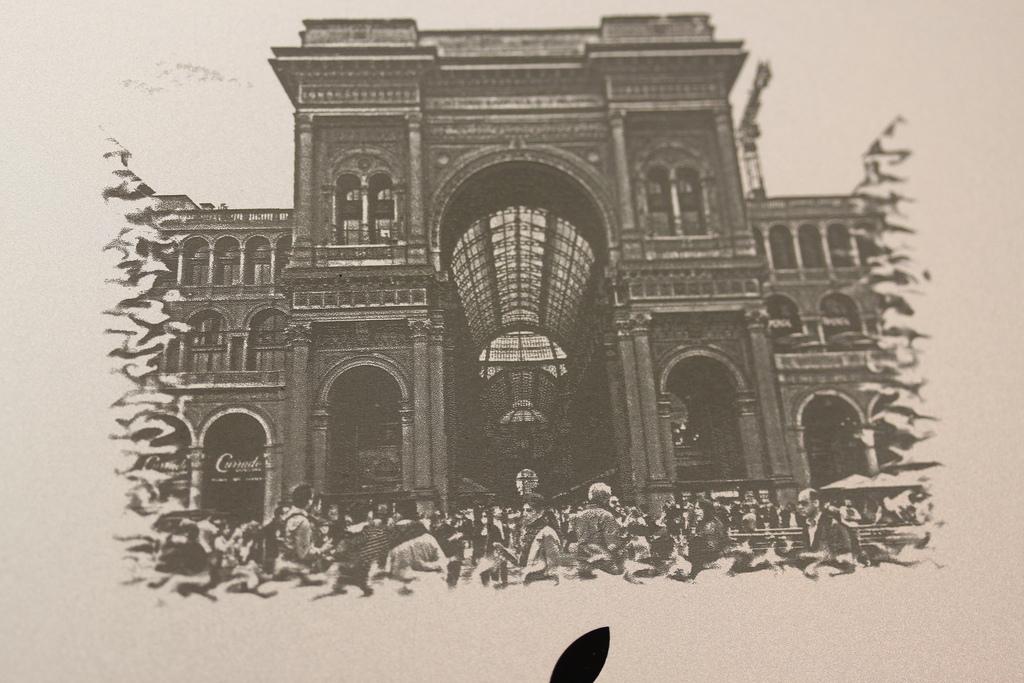 iPad Engraving Detail