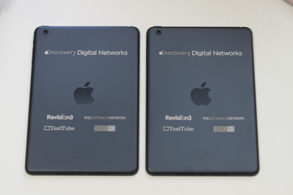 iPads for Discovery - Two Color Engraving