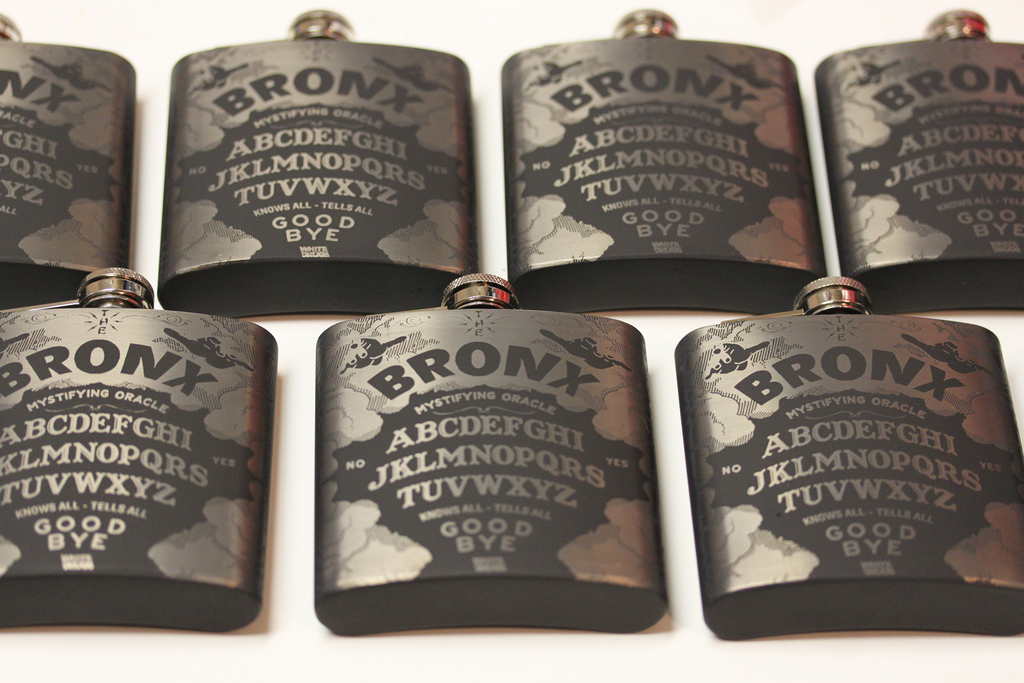 Engraved Promotional Flasks