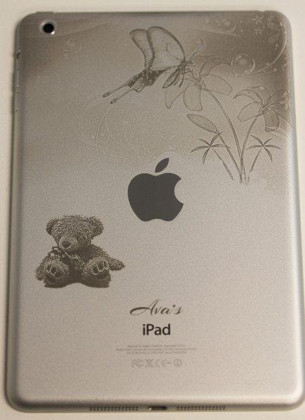 Butterflies and Teddy Bear iPad mini