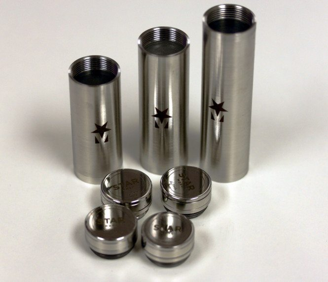 Laser Engraved Stainless Steel Parts