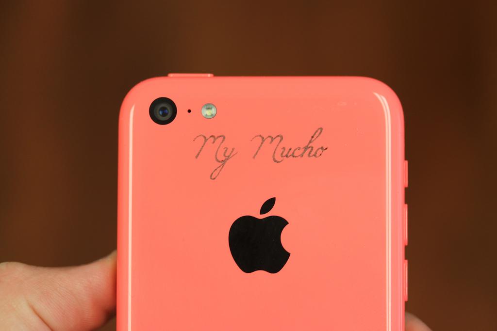 Laser Engraved iPhone 5C
