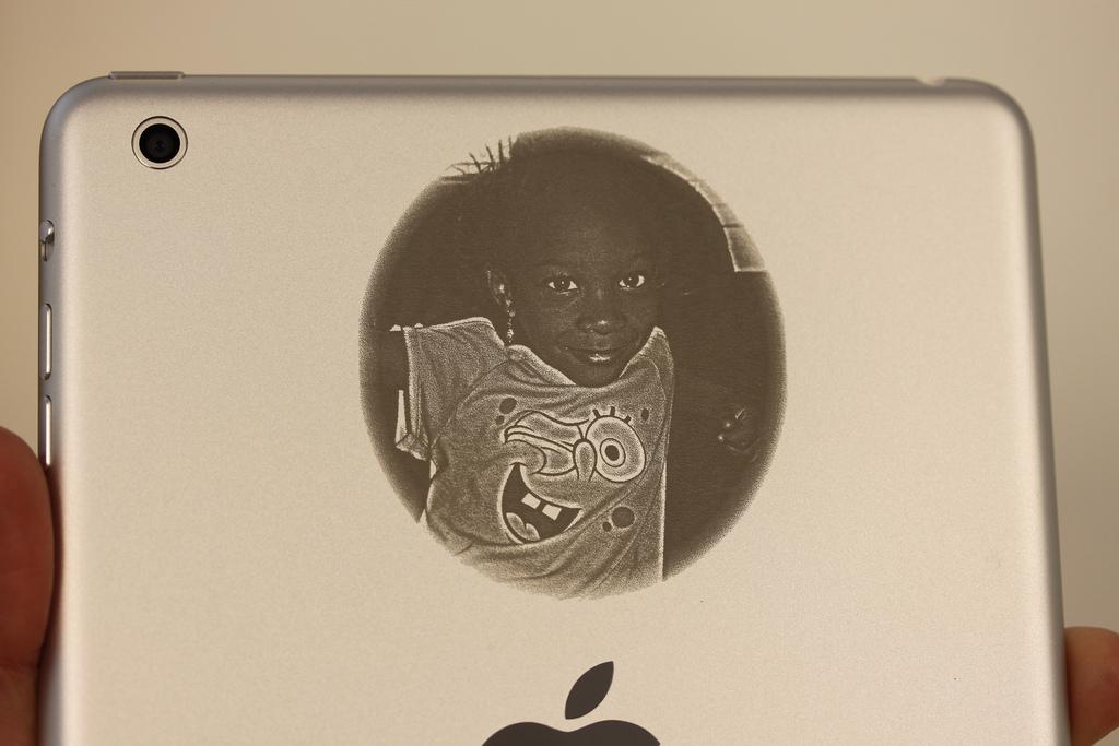 Photo iPad mini Engraving