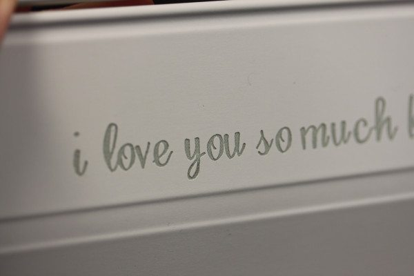 Engraved SmartCover