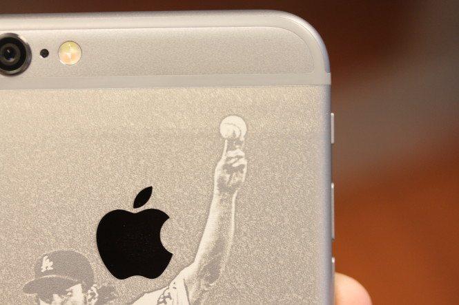 iPhone 6 Engraving Detail