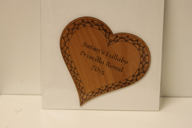 Laser Engraved Heart
