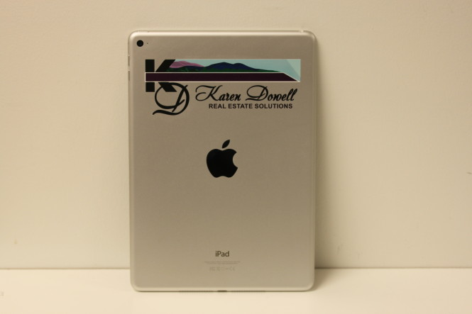 Color iPad Branding for Karen Dowell Real Estate Solutions