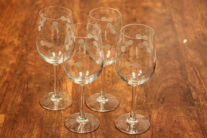 Custom Designed Wine Glasses