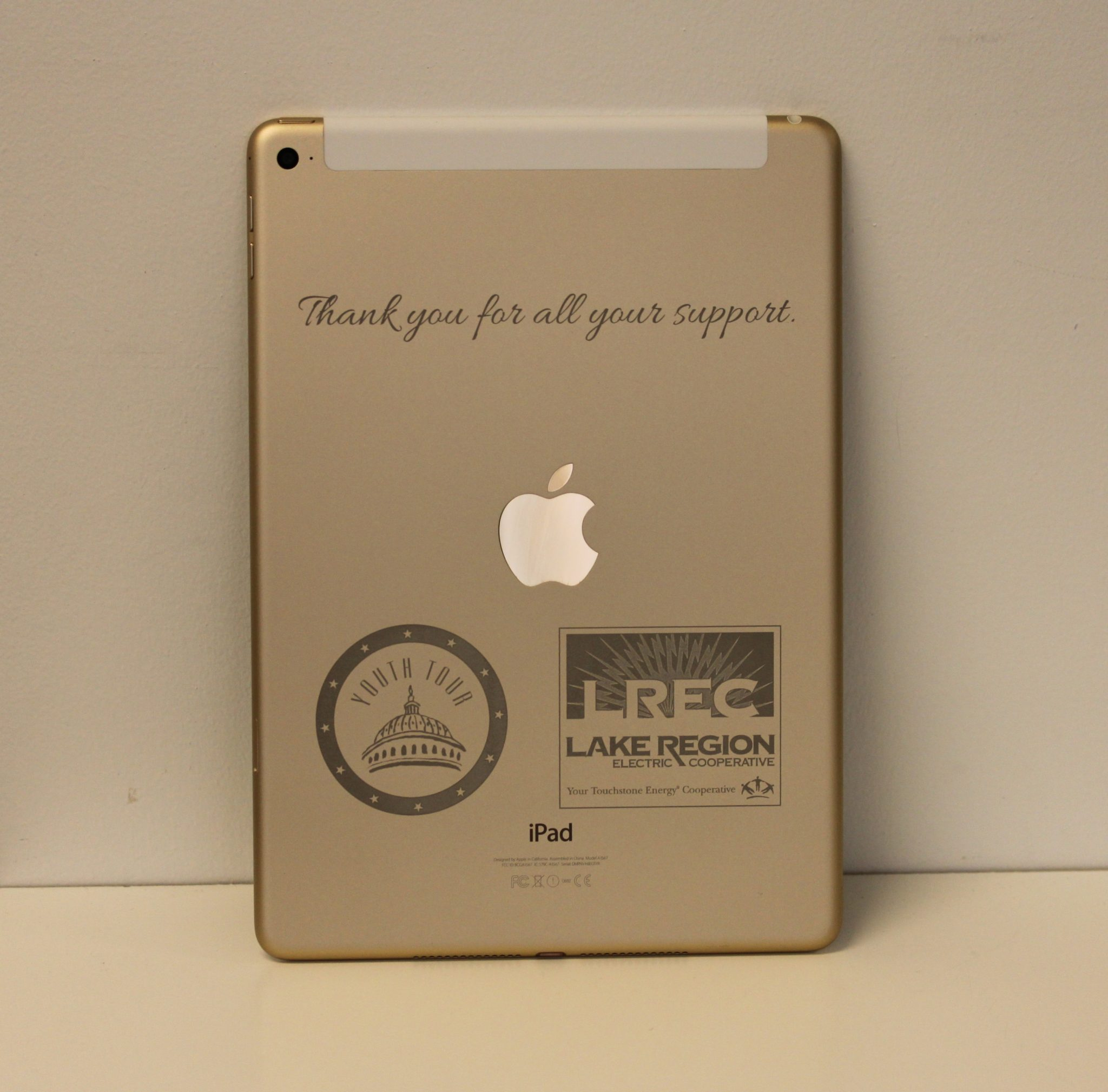 Engraving Apple's Gold iPads, iPhones, and MacBooks 1