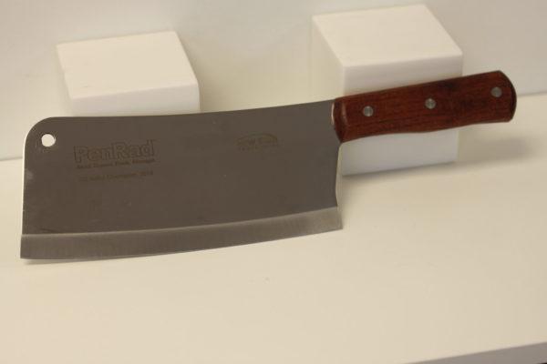 Laser Engraved Cleaver Knife
