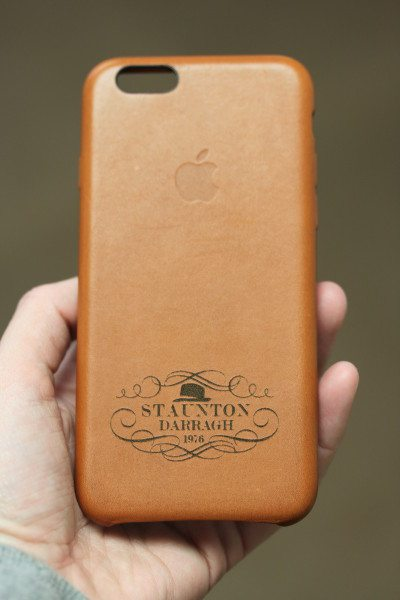 saddle brown iphone case