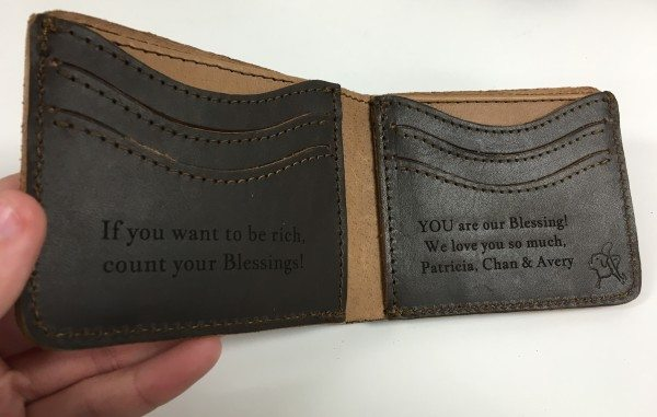 Saddleback wallet