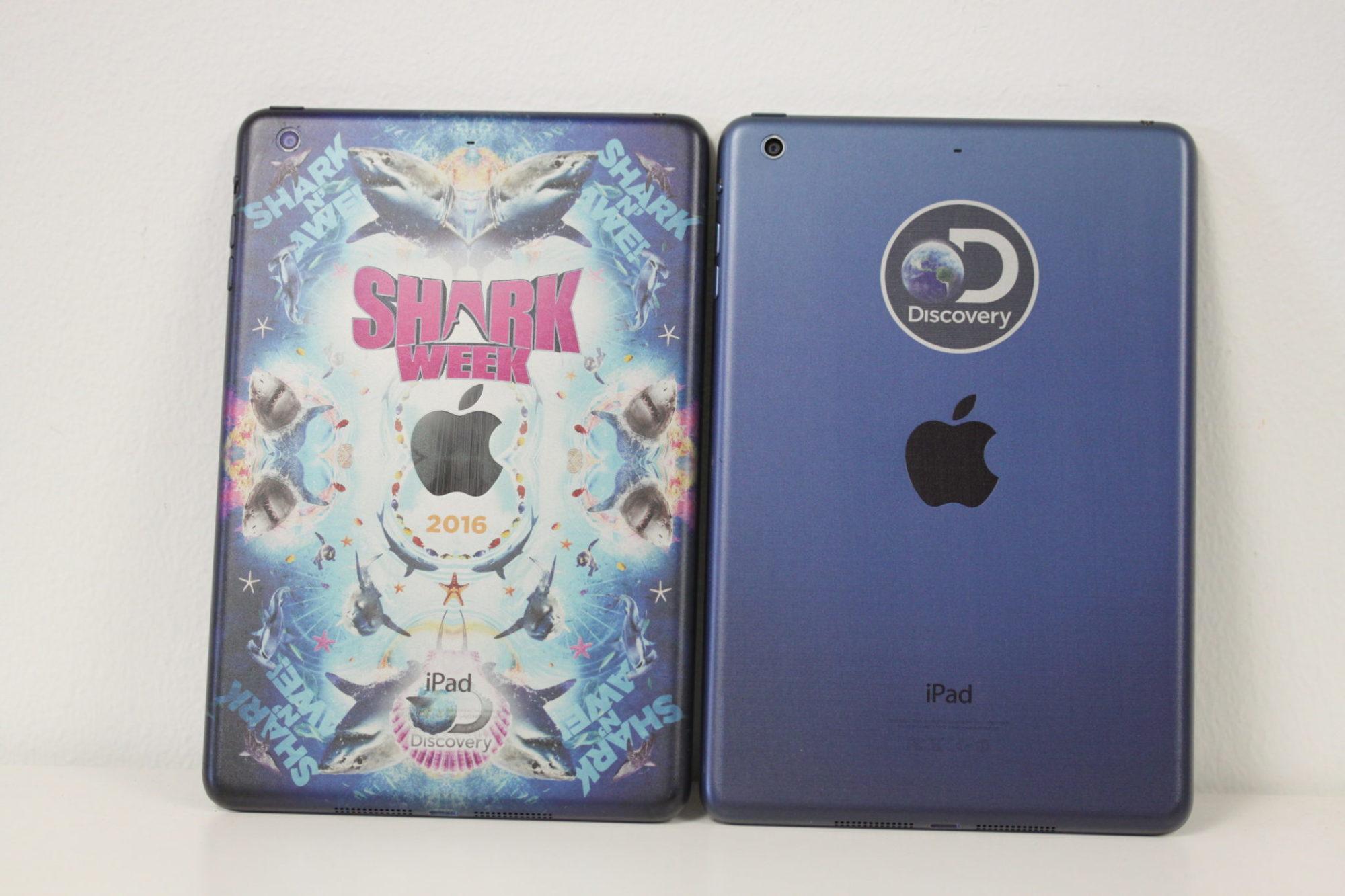 Shark Week Printed iPads