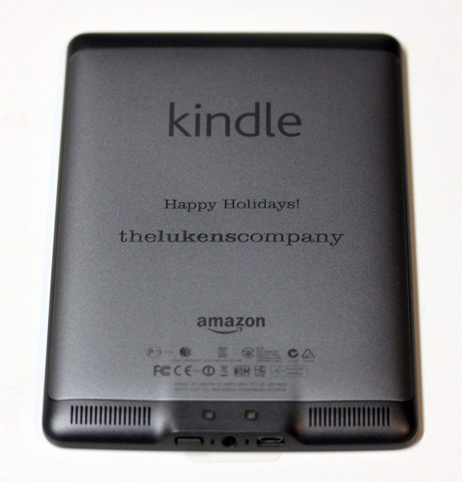 Customized Kindle Touch