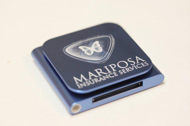 Laser Engraved iPod Nano