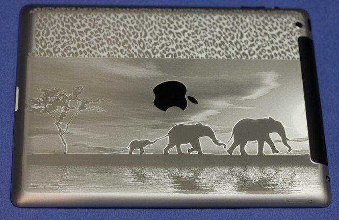 Landscape iPad Engraving
