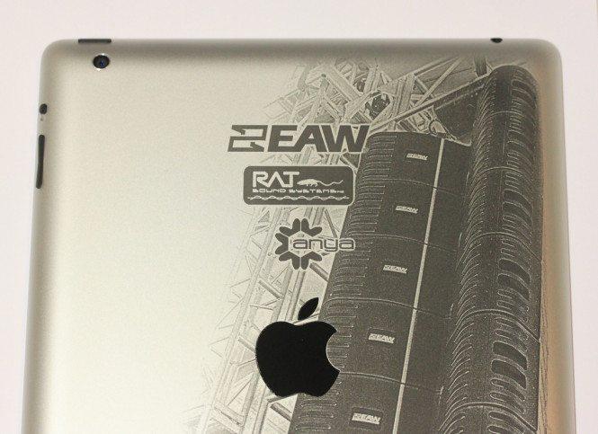 Custom iPad Branding