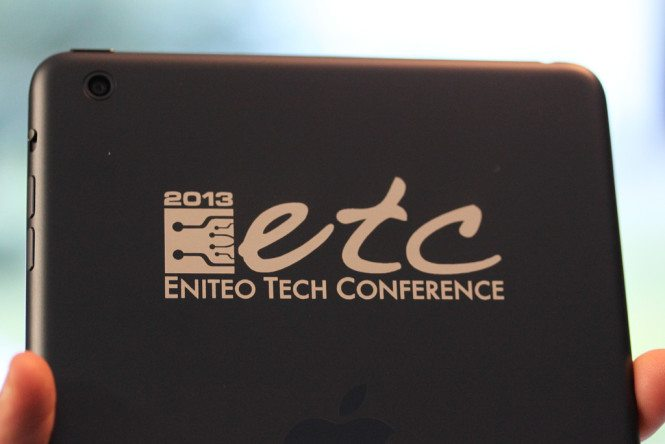 iPad for a conference