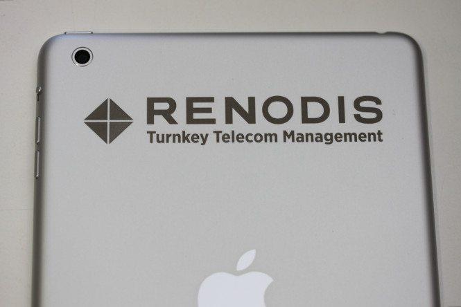 iPad mini corporate logo