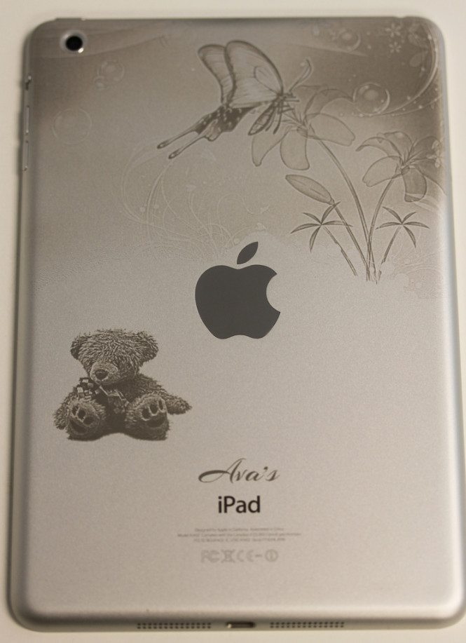 Butterflies and Teddy Bear iPad mini