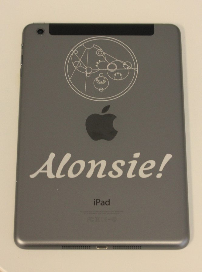 Laser Engraved iPad mini