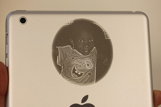Photo iPad mini Engraving