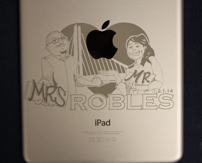 Mr. & Mrs. iPad Engraving