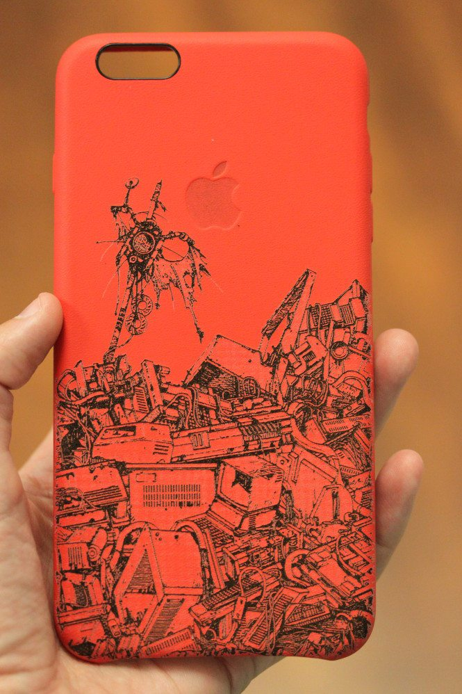 Apple's Red Leather iPhone 6 Case 1