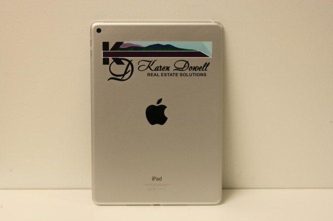 Color iPad Branding for Karen Dowell Real Estate Solutions