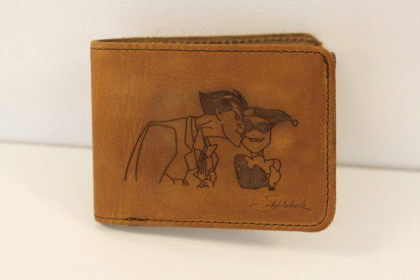 Engraved Saddleback Leather Wallet