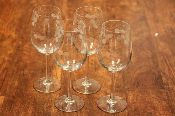 Custom Designed Wine Glasses
