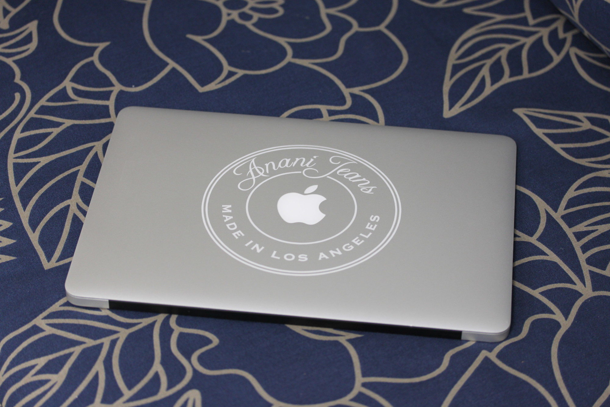 Personalized MacBook Engraving