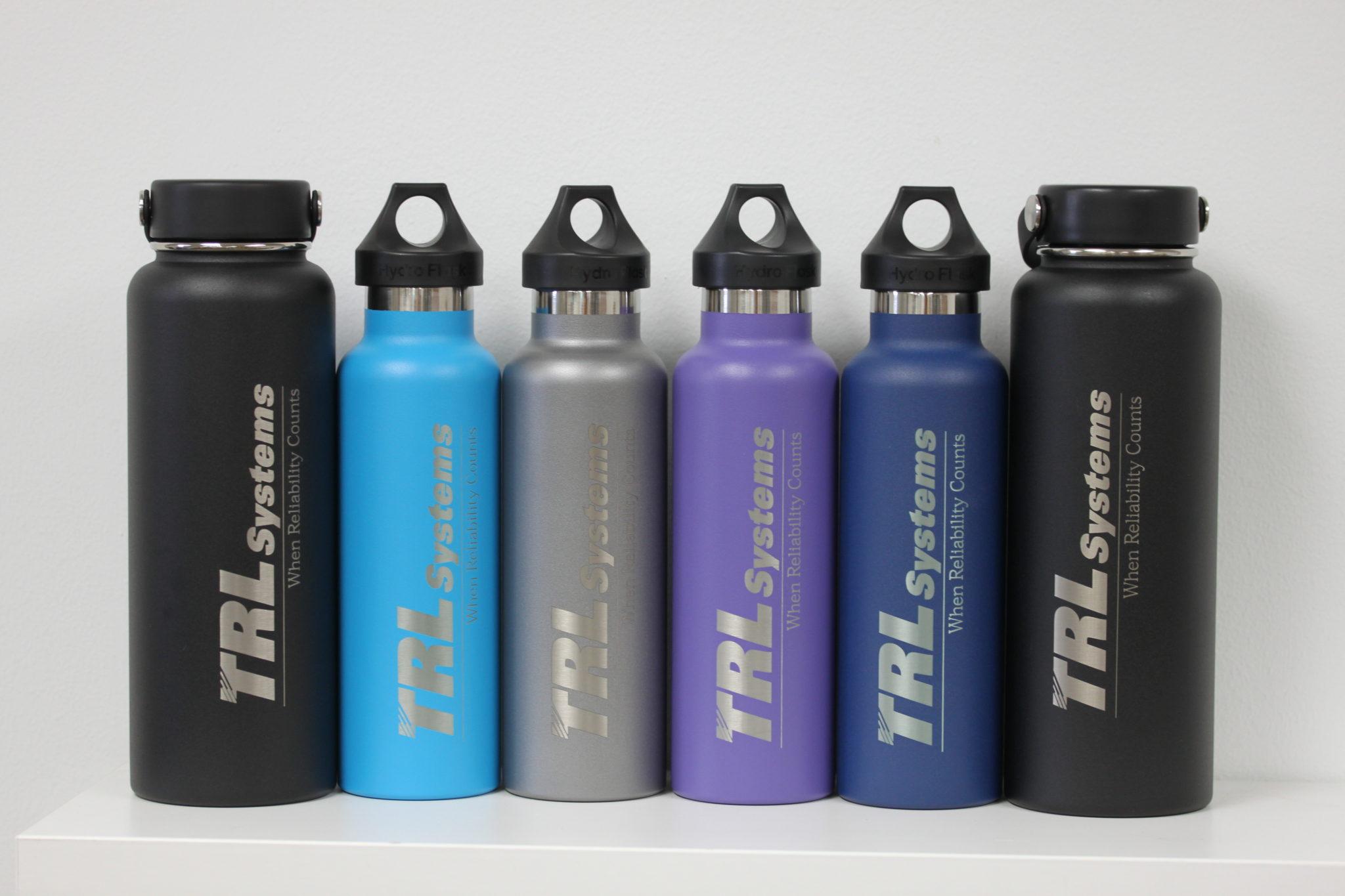 Laser Engraved Hydroflask Watter Bott