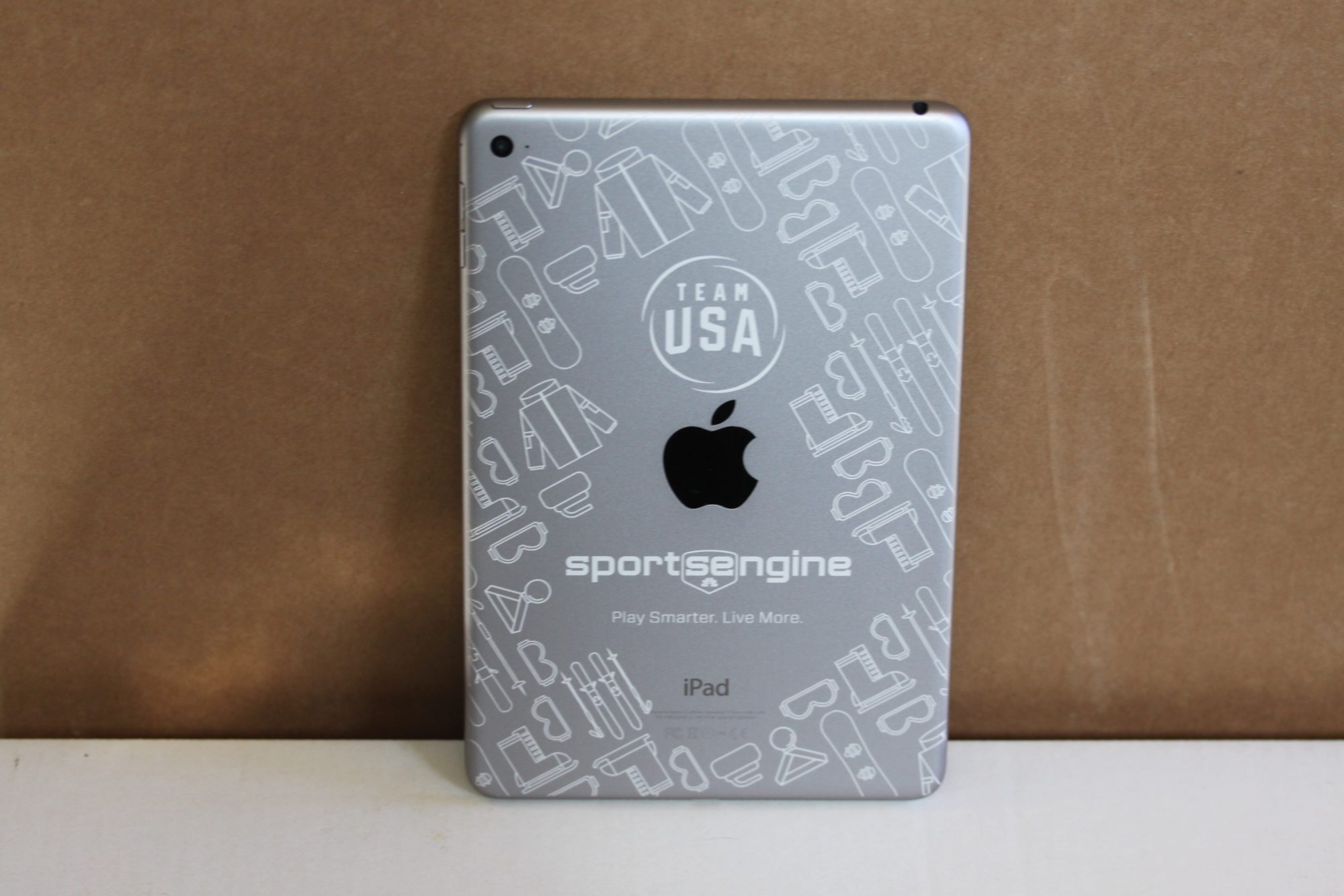 Olympics iPad Engraving