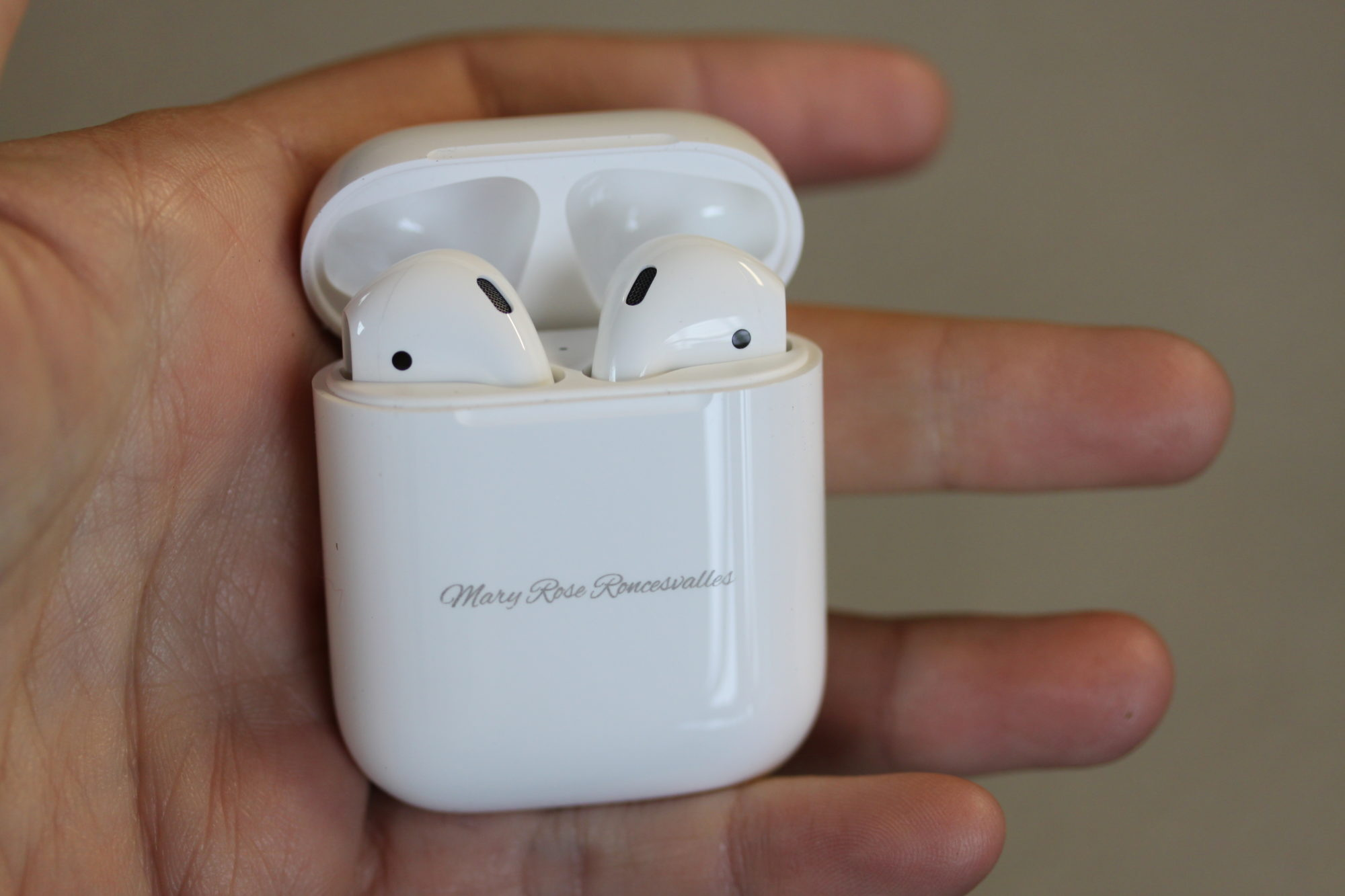 Laser Engraved AirPods