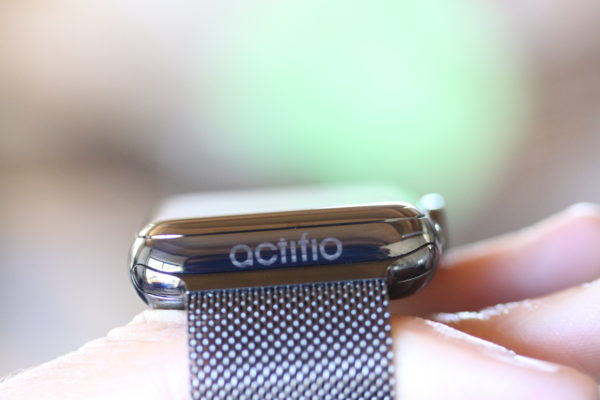 Engraved Stainless Steel Apple Watch