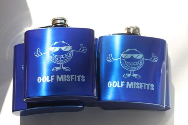 Laser Etched Custom Flasks