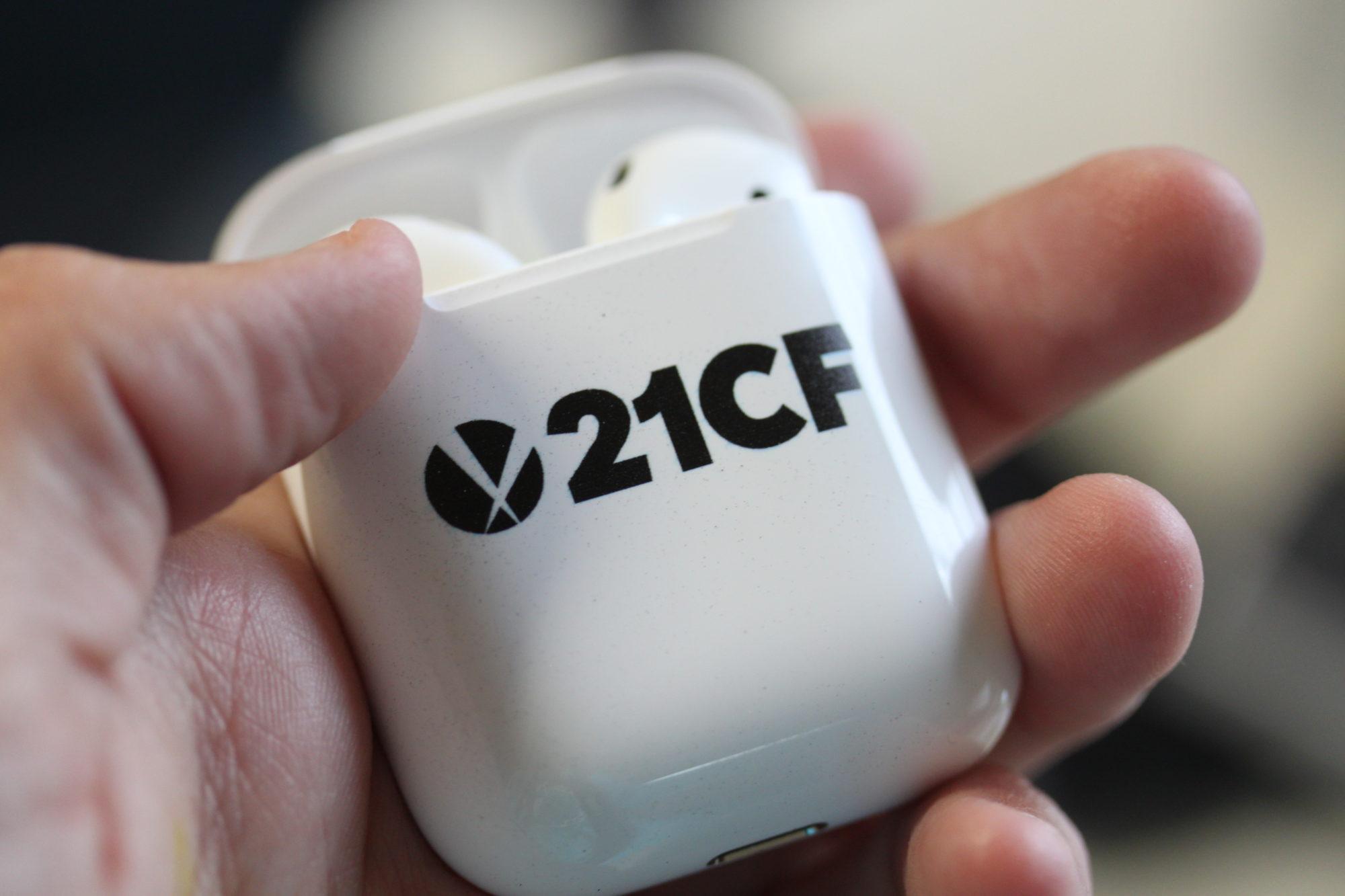 Custom Branded Apple Air Pods as Promos!