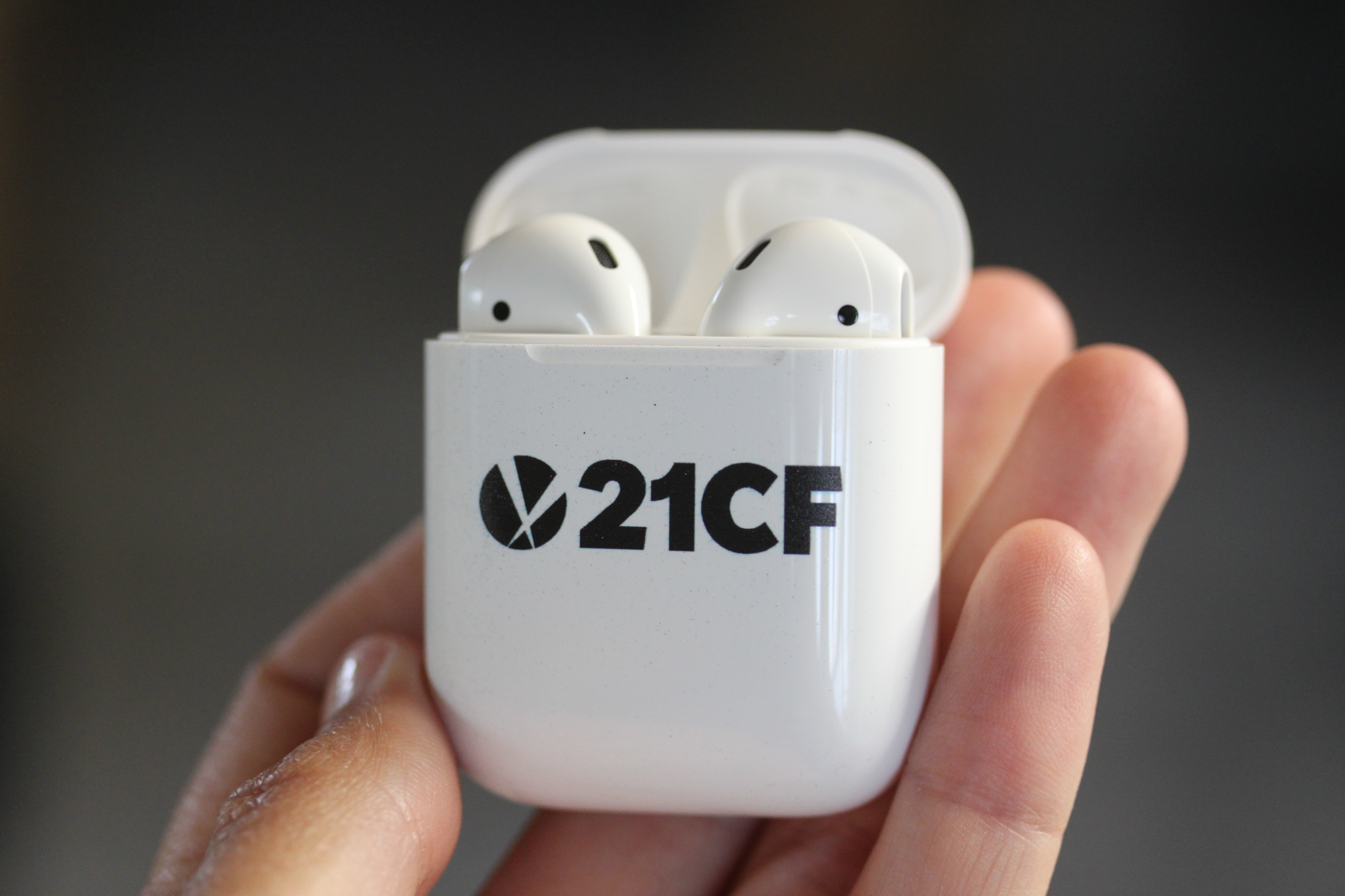 Custom Branded Apple Airpods In A Flash Laser Ipad