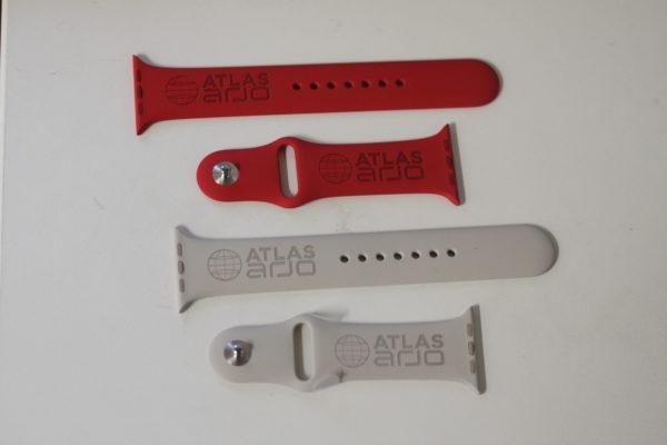 Custom Engraved Apple Watch Sport Bands